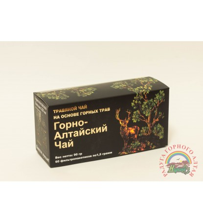 """Фиточай """"Горно-Алтайский чай с горными травами"""""""