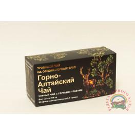 """Фиточай """"Горно-Алтайский чай """" черный чай с горными травами"""