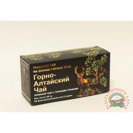 """Фиточай """"Горно-Алтайский чай """" зеленый чай с горными травами"""
