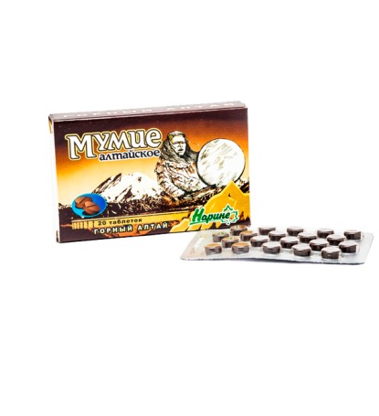 Мумие Алтайское «Нарине» (в таблетках)